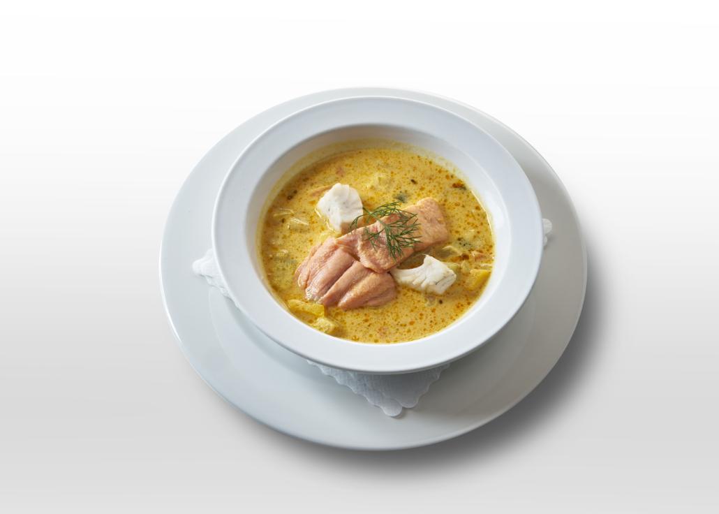 Maria Ecker Fischsuppe